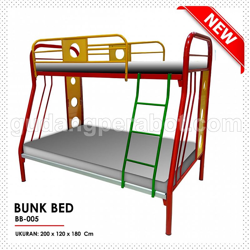 Bunk Bed BB-005 120x200 cm